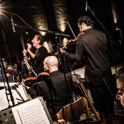 Morgenland Chamber Orchestra, Syrian Expat Philharmonic Orchestra & Naci Özgü © Andy Spyra